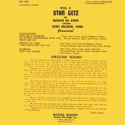 Stan Getz Vol. 2: And the Swedish All Stars