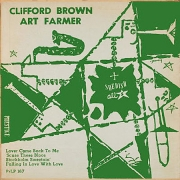 Clifford Brown and Art Farmer with the Swedish All Stars