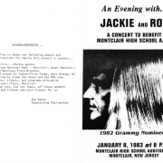 Jackie & Roy Concert, Montclair, NJ 1983