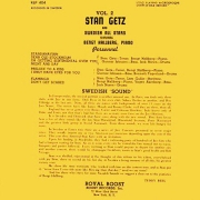 Stan Getz Vol. 2: And the Swedish All Stars