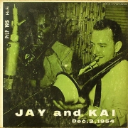 Jay and Kai, Dec. 3, 1954