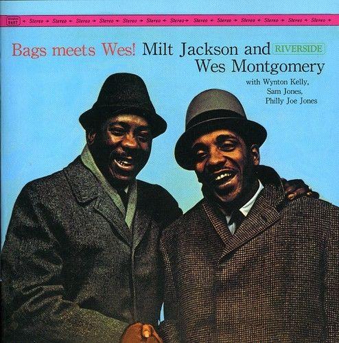 """Riverside LP 12"""" RLP 407/9407 — Bags Meets Wes!   (1962)"""