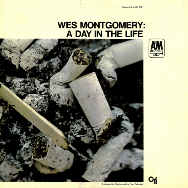 """A&M LP 12"""" SP 3001 — A Day In The Life   (1967)"""
