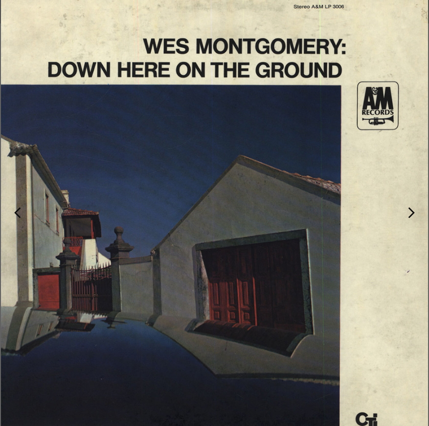 """A&M LP 12"""" SP 3006 — Down Here On The Ground   (1968)"""