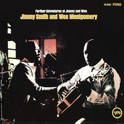 """Verve LP 12"""" V6 8766 — Further Adventures of Jimmy and Wes   (1969)"""
