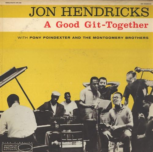 """World Pacific LP 12"""" WP 1283 — A Good Git-Together   (1959)"""