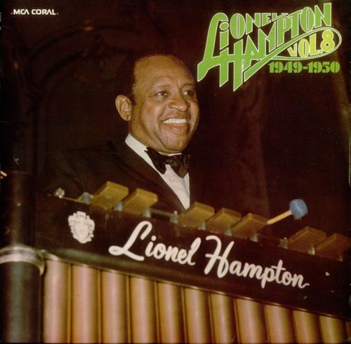 """Coral (Ger.) LP 12"""" 6.22421 — Lionel Hampton, Vol. 8: 1949-1950   (1976)"""
