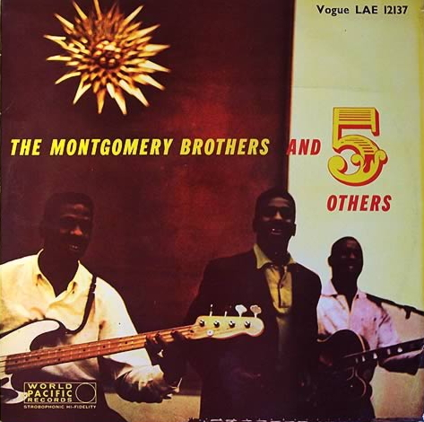 """Vogue (Eng.) LP 12"""" LAE 12137 — The Montgomery Brothers And 5 Others   (1958)"""