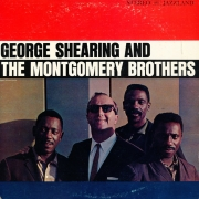 "Jazzland LP 12"" JLP 955 — George Shearing And The Montgomery Brothers   (1961)"