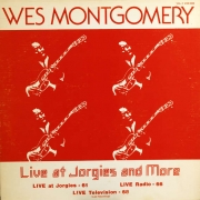 "VGM LP 12"" 0008 — Wes Montgomery: Live At Jorgies And More, Volume 2"